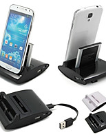 cheap -Cwxuan® 3 in 1 Desktop Data Sync Charge OTG Station USB Cradle Charger for Samsung Galaxy S4 i9500
