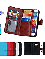 cheap -Magnetic 2 in 1 Wallet Leather With Card Slot Case for Galaxy S7/S6 Edge Plus/S6 Edge/S5/S4+Stylus Anti-dust Plug
