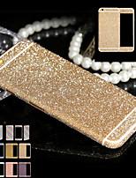 abordables -el brillo del cuerpo completo para iPhone6 / 6s caso etiqueta engomada del teléfono calcomanías película de diamante