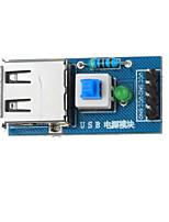 usb module convertisseur de puissance pour Arduino + framboise pi - bleu