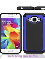 cheap -For Samsung Galaxy Case Shockproof Case Back Cover Case Armor PC Samsung Grand Prime / Core Prime