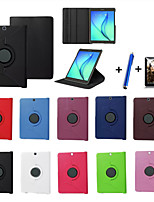 cheap -New 360 Rotating PU Leather Stand Case Cover For Samsung Galaxy Tab S2 8.0 T715/S2 9.7 T815 Tablet+Stylus+Film
