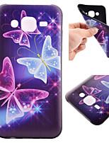 Pour Samsung Galaxy Coque Motif Coque Coque Arrière Coque Papillon PUT pour Samsung J5 J1 Grand Prime Core Prime
