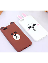 cheap -Case For iPhone 5 Apple iPhone 5 Case Shockproof Back Cover 3D Cartoon Soft Silicone for iPhone SE/5s iPhone 5