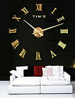 Modern/Contemporary Country Casual Office/Business Others Asian Theme Classic Theme Fashion Family Wall Clock,Circular EVA Stainless steel