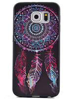 billige -For Samsung Galaxy S7 Edge Mønster Etui Bagcover Etui Drømmefanger TPU for Samsung S7 Active S7 plus S7 edge S7 S6 edge S6