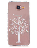 For Samsung Galaxy Case Transparent / Pattern Case Back Cover Case Tree TPU Samsung A5(2016) / A3(2016)