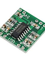 pam8403 super mini de la carte amplificateur numérique 2 * 3w classe d de 2.5v numérique à 5V amplificateur de puissance conseil efficace