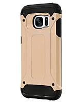 cheap -For Samsung Galaxy S7 Edge Shockproof Case Back Cover Case Armor PC SamsungS7 Active / S7 plus / S7 edge / S7 / S6 edge plus / S6 edge /