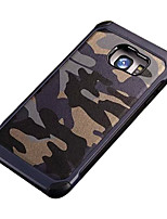 baratos -Para Samsung Galaxy S7 Edge Antichoque / Estampada Capinha Capa Traseira Capinha Côr Camuflagem PC SamsungS7 Active / S7 plus / S7 edge /