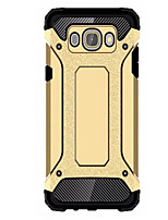 cheap -For Samsung Galaxy Case Shockproof Case Back Cover Case Armor PC Samsung J5 (2016) / J1 2015