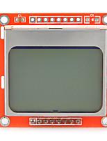 1,6 pouces lcd nokia Module 5110 lcd rétro-éclairé blanc pour Arduino