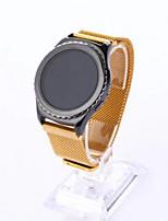abordables -20 mm correa de reloj de acero inoxidable de metal para Samsung S2 de engranajes