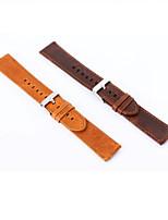 abordables -20 mm de cuero genuino de la hebilla del reloj deportivo para Samsung S2 de engranajes