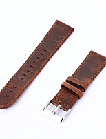 cheap -Coffee Brown Vintage Genuine Leather Watch Band Retro Replacement Strap For Samsung Gear S2 Classic
