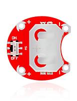 keyes ccr lilypad portable - bouton 2004 (rouge) module de batterie sans batterie