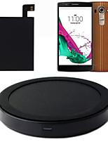 escreva-c qi cobrando tapete + etiqueta receptor com NFC para LG g4 carregador sem fio