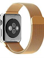 economico -Cinturino per orologio  per Apple Watch Series 3 / 2 / 1 Apple Custodia con cinturino a strappo Cinturino a maglia milanese