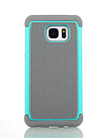 cheap -For Samsung Galaxy Case Shockproof Case Full Body Case Armor Silicone Samsung S7 edge / S7 / S6 edge plus / S6 edge / S6