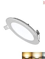 baratos -1550-1700lm lm Luminária de Painel 90pcs leds SMD 2835 Regulável Decorativa Branco Quente Branco Frio Branco Natural AC 85-265V