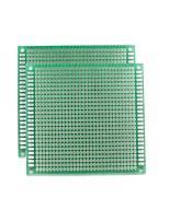 universal placa de dupla face PCB - verde (5 * 7cm)