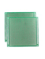 universel double face PCB bord - vert (5 * 7cm)