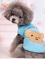 cheap -Dog Coat Animal Wedding Fashion Christmas Winter Dog Clothes Black Blue Pink Costume Cotton S M L XL XXL