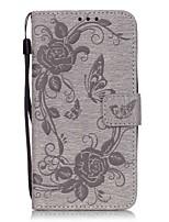 preiswerte -Hülle Für Samsung Galaxy J5 (2016) Handyhülle für das ganze Handy Volltonfarbe Hart Kunst-Leder für J5 (2016) Grand Prime