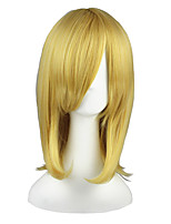cheap -Synthetic Hair Wigs Straight Cosplay Wig 13cm(Approx5inch) Blonde