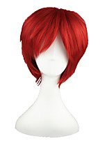 cheap -Synthetic Wig Straight Capless Red Cosplay Wig 13cm(Approx5inch)