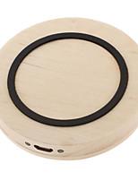 pour galaxy note 4 3 s5 / 4/3 qi chargeur sans fil pad de bois