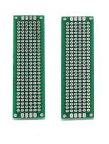 plaqué diy étain double côté planches kb - argent + vert (2 pcs)