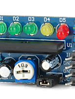 ka2284 indicateur de niveau de puissance module indicateur de niveau audio indicateur de batterie