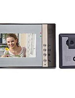 7 Inch LCD Color Night Vision HD Video Intercom Doorbell Electric Control Lock Without Radiation