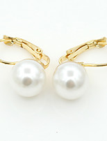 MOGE Women's Fashion About Pearl Earring