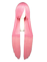 40inch Long Straight Pink Kuroko No Basketball Momoi Satsuki Wigs Synthetic Anime Cosplay Wigs CS-035X