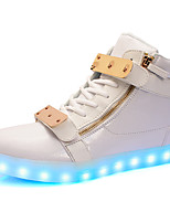 Women's Sneakers Light Up Shoes Comfort Light Soles Synthetic Microfiber PU Fall WinterAthletic Casual Outdoor Office & Career Party &