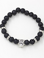 cheap -Men's Strand Bracelet Fashion Glass Titanium Alloy Leopard Jewelry Daily