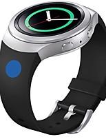 Недорогие -мягкий силиконовый замена спорт лента для Samsung шестерней S2 смарт-часы (синий розовый точка)