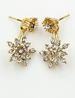 Women's Fashion Sexy Diamond Daisy Earrings