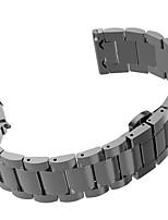 Недорогие -Черный / Роуз / Золотистый / Серебристый Нержавеющая сталь Metal stainless steel Спортивный ремешок Для Samsung Galaxy Смотреть 20мм