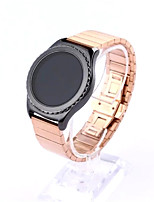 cheap -For Samsung Gear S2 Classic Watchband Stainless Steel Bracelet Butterfly Loop