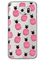 cheap -Pineapple Pattern TPU Soft Ultra-thin Case Cover For Samsung GalaxyS7 edge / S7 / S6 edge plus /S6 edge/s6/s5/s4