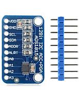 landa tianrui tm-ads1015 12-bit analogique de précision numérique coverter adc carte de développement pour Arduino - bleu
