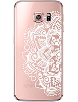 cheap -Mandala Pattern TPU Soft Back Cover Case for Galaxy S6/S6 Edge/Galaxy S7/Galaxy S6 edge Plus/Galaxy S7 edge