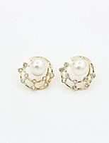 Ladies Fashion Leisure Trend Diamond Stud Earrings