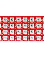 Недорогие -Киз 2812-8 * 4 светодиода полноцветное RGB 32-битный модуль фонарь (красный)