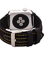 Недорогие -Часовая группа для яблочных часов 38мм 42мм нейлон и кожаный ремешок для часов классическая пряжка