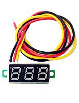 0,28 mini pouces LED dc2.5-30v affichage du compteur de tension volts voltmètre numérique