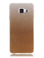 preiswerte -Für Samsung Galaxy Hülle IMD Hülle Rückseitenabdeckung Hülle Glänzender Schein Weich TPU Samsung A5(2016) / A3(2016)